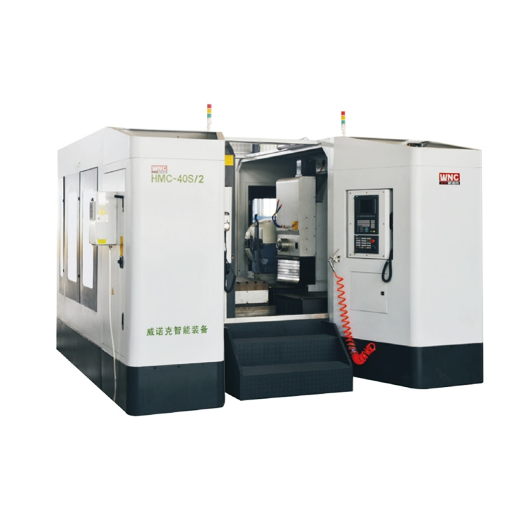 Double Axis Horizontal Machining Center Cnc Machine With High Rigidity High Accuracy