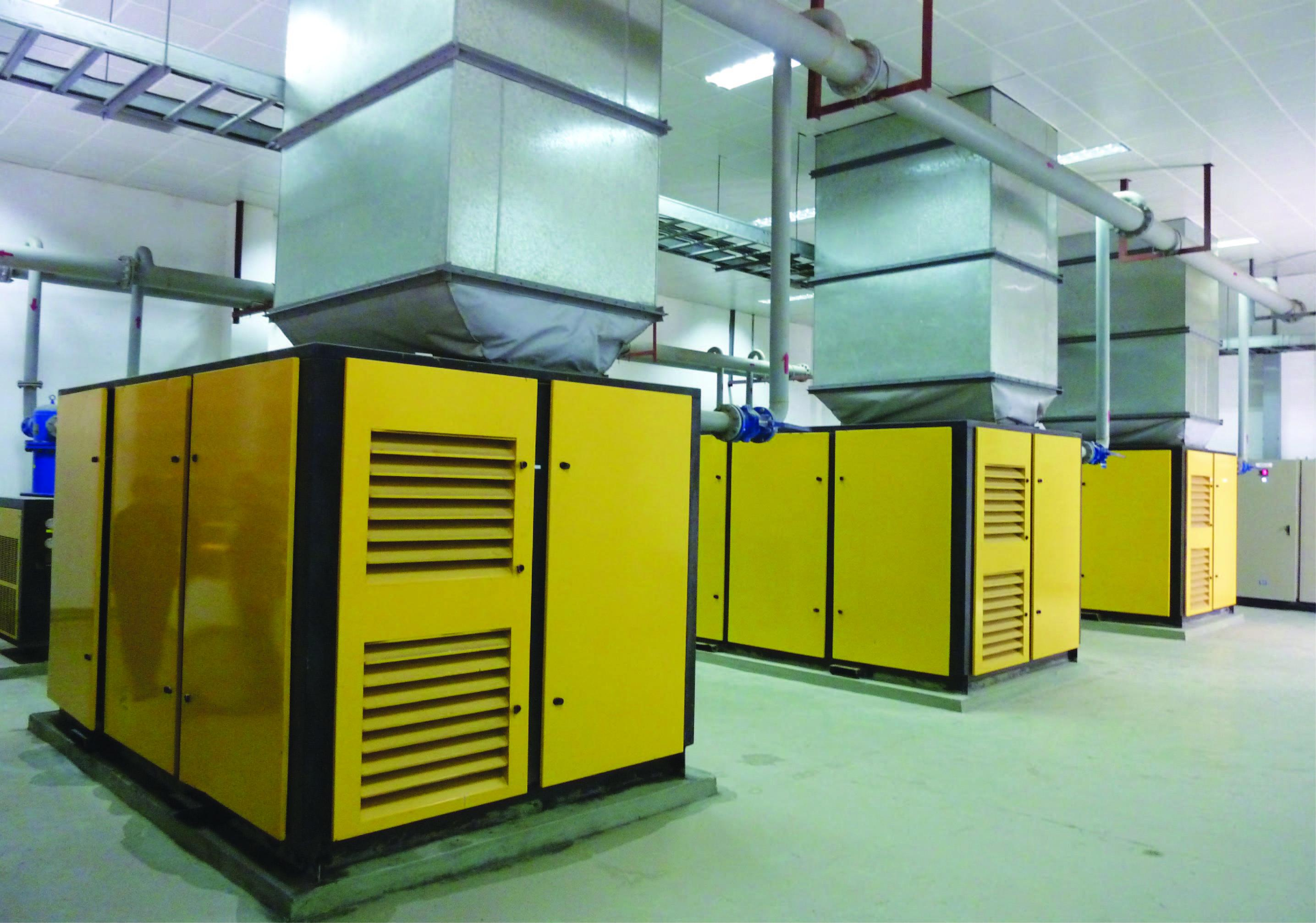 大功率空壓機通過2級能效等級檢驗
