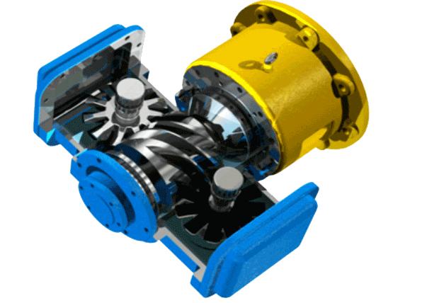 水潤滑無油螺桿空壓機核心部件再創卓越
