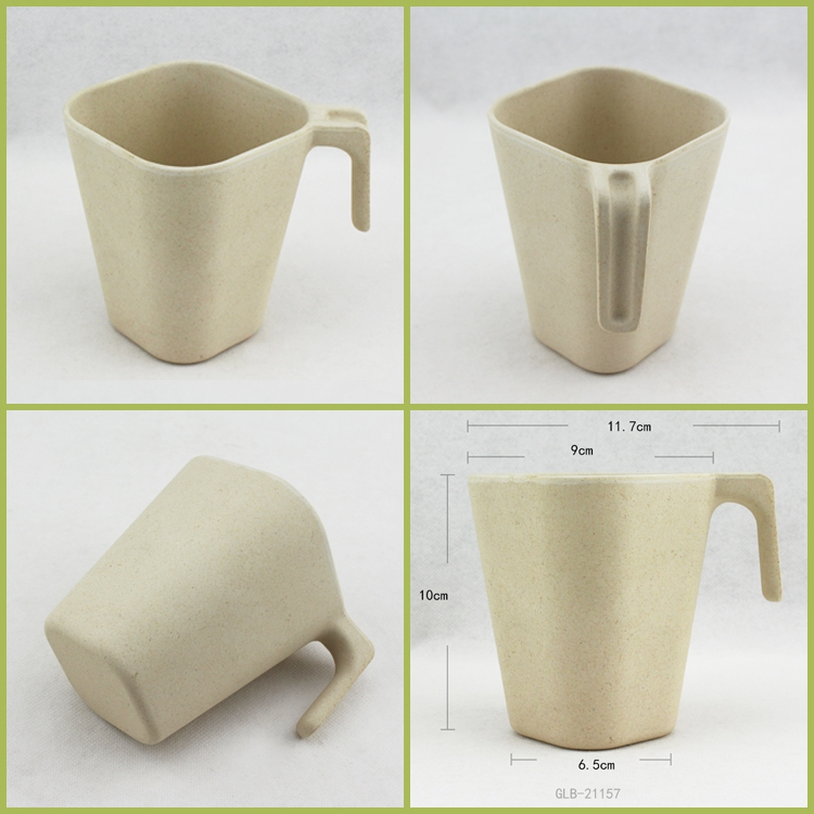 Popular bamboo fiber cups factory made, beer cups, high quality, eco-friendly, smell-less