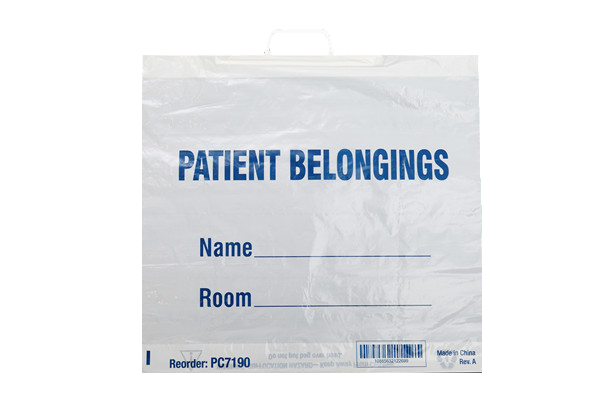 Patient Belonging Bag (Rigid handle)