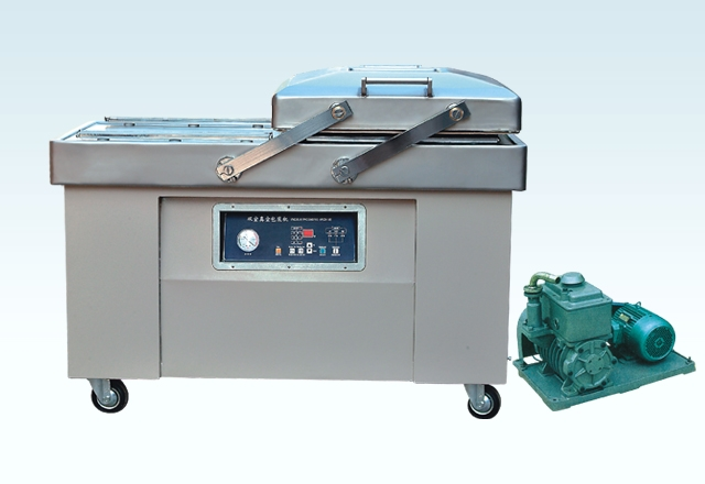 Double-Chamber Vacuum Packer
