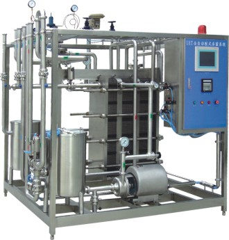 Plate-type sterilizer