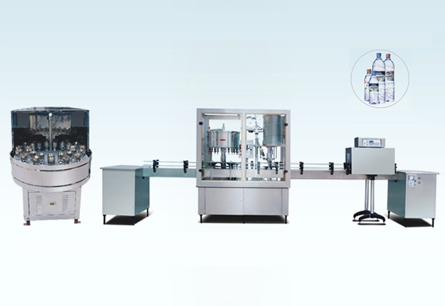 BF2000 The Production Line Of Washing, Filling And Capping Machine