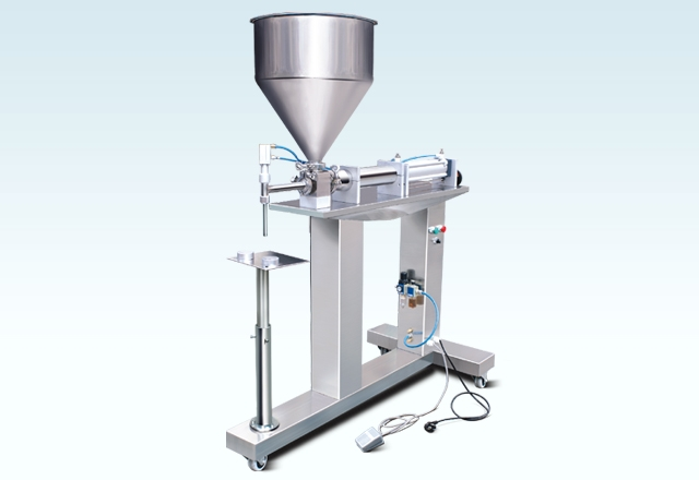 Semi-Auto Double Head Paste Filler