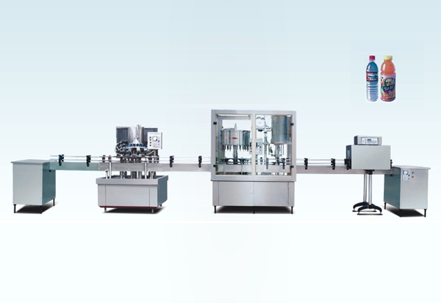 BF2000A Automatic Bottle Washing, Filling And Capping Line