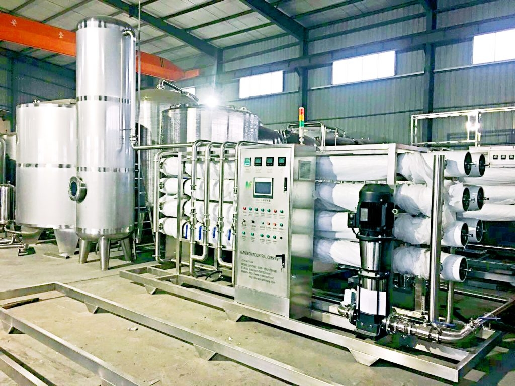 2-30T/H pure water treatment machine
