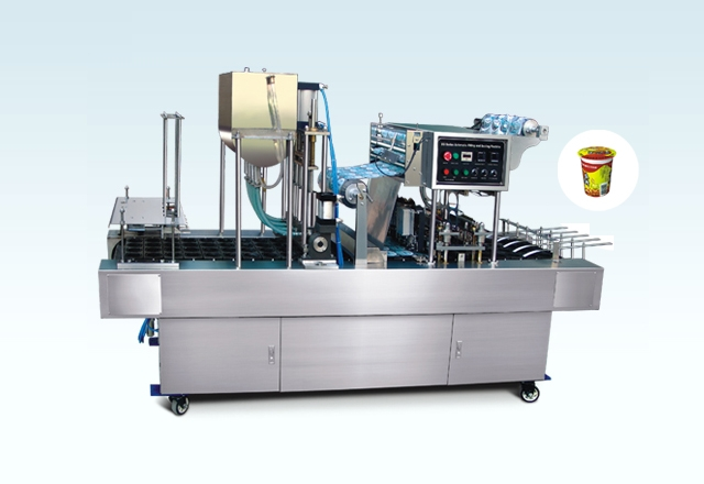BG32P Automatic Cup Filling And Sealing Macine