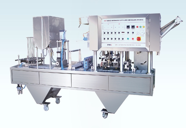 CFD-4 Automatic Cup Filling And Sealing Machine