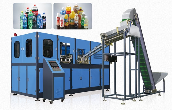 4 Cavity Automatic Blow Moulding Machine