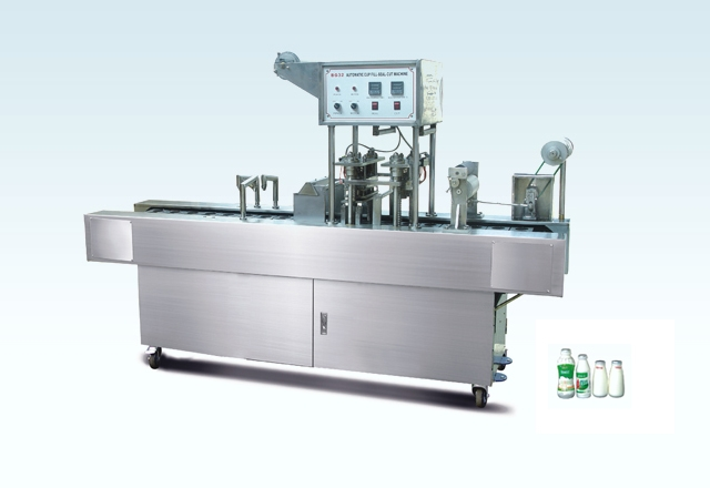 BG48S Automatic Milk Bottle Filling And Sealing Machine