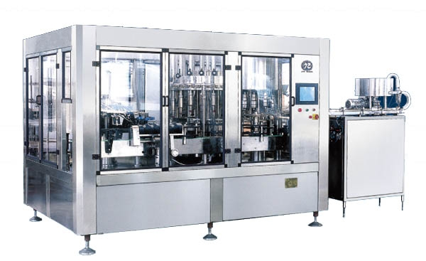 JR24-24-8/8R 6500B/H Washing Filling Capping Machine