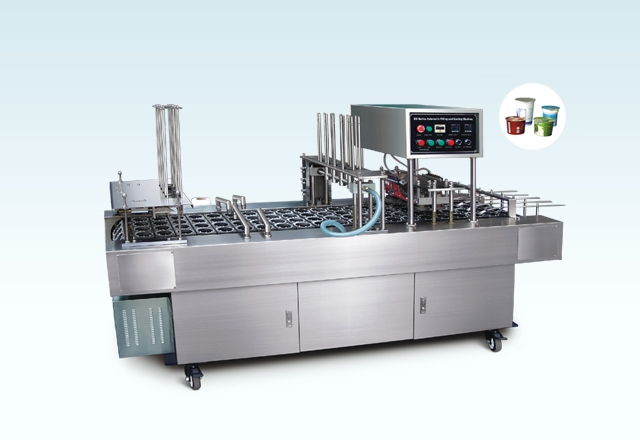 BG32V Automatic Cup Filling AND Sealing Machine