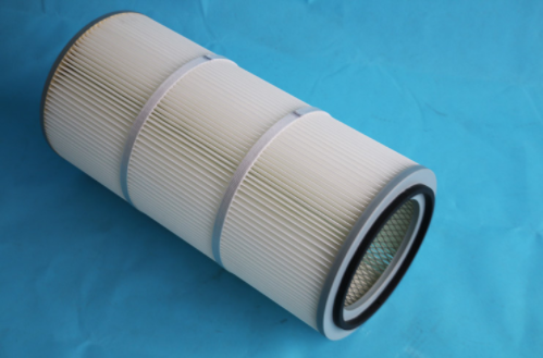 Polyester with PTFE membrane filter cartridge