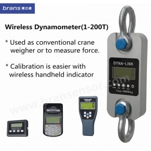 200T Wireless dyna-link/Dynamometer with hand held indicator