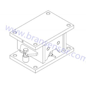 Low profile load cells weighing modules
