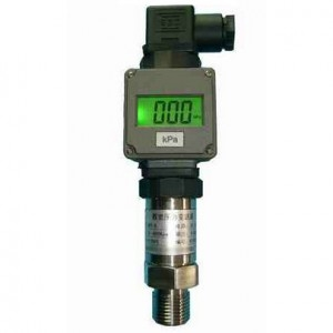 -0.1-150Mpa Water Gas Pressure Transducer/Transmitter with displayer DC 24V Air Compression Pressure Sensor