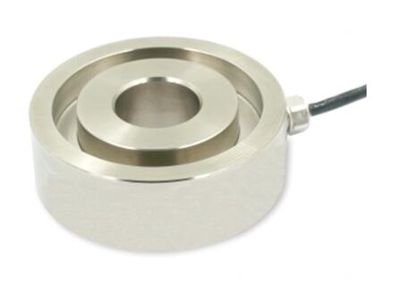 100kN Donut type stainless steel compression load cell