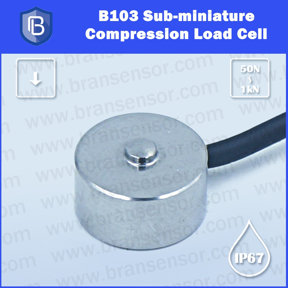 50N,100N,200N, 500N,1000N Sub-miniature Load Cells and Force Sensors