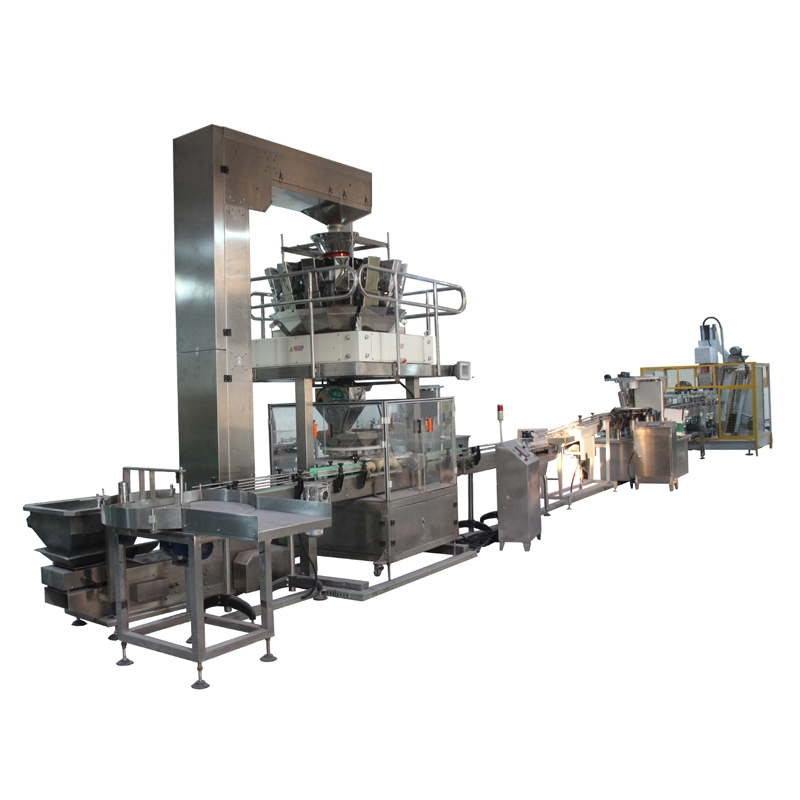 High Speed Granule Bottle/Can Filling Machine