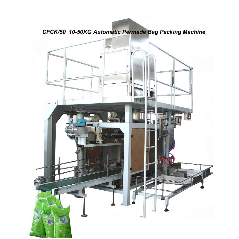 HBP580G Automatic heavy bag 10-50kg Granule Packing Machine