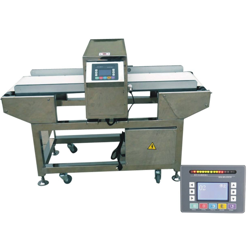 Metal detector for food packing industry
