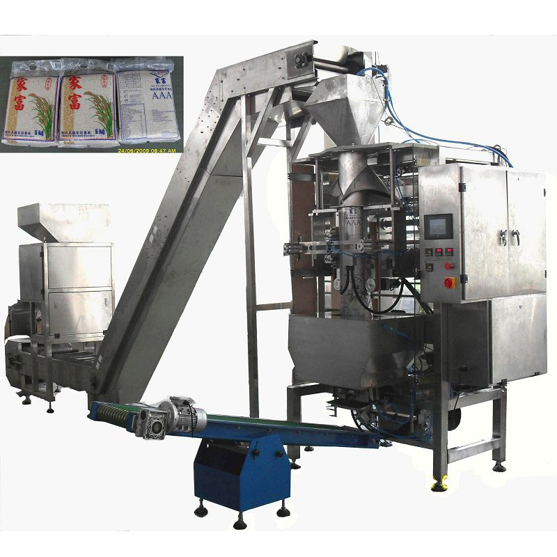 RVP500 Automatic 5-10kg Rice Vacuum Packing Equipment
