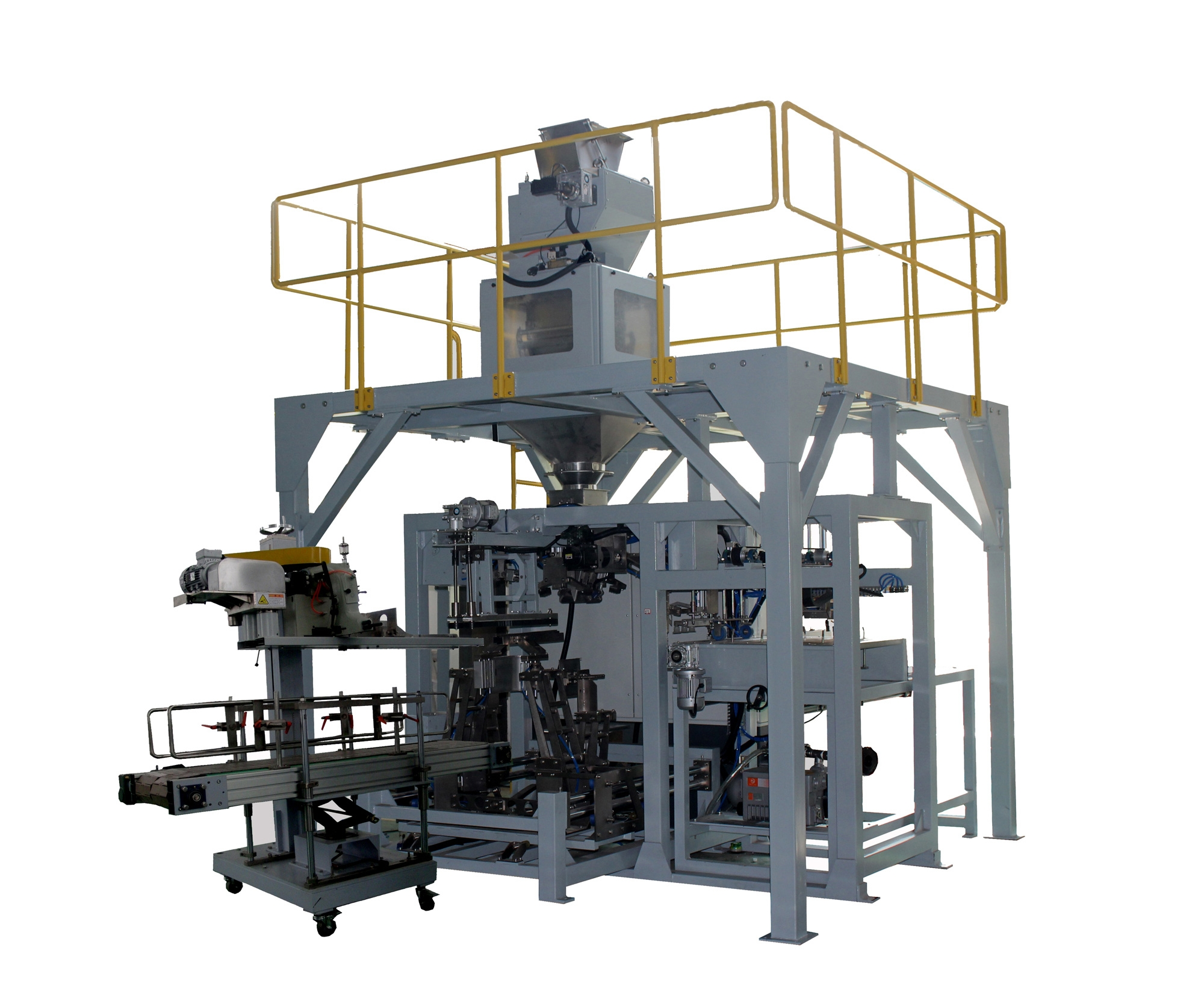 Achieve Automatic Packing in Fertilizer Industry