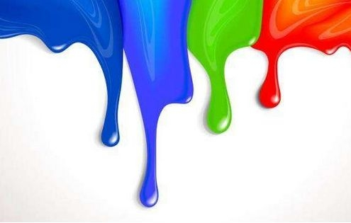 Ten series of paint for decoration materials