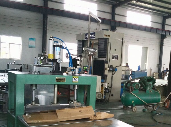 Freezer liner and side plate 30° bending machine
