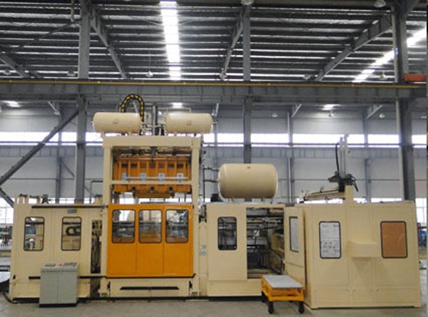 Multi-station molding machine