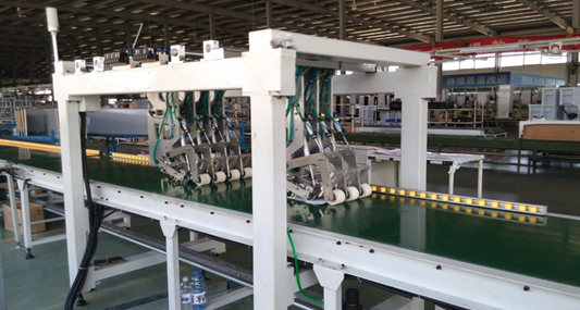 Automatic Skin Condenser Adhesive Line