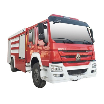 HOWO Water Tank Foam Fire Truck