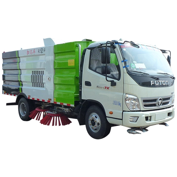 Road Cleaning sweeper truck