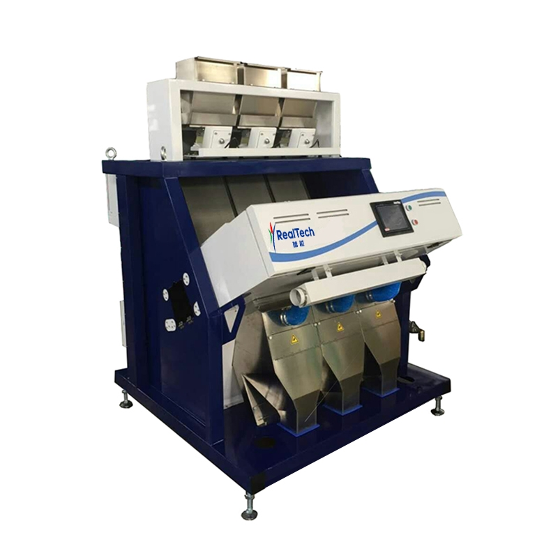 Three Chutes Industrial Color Sorter