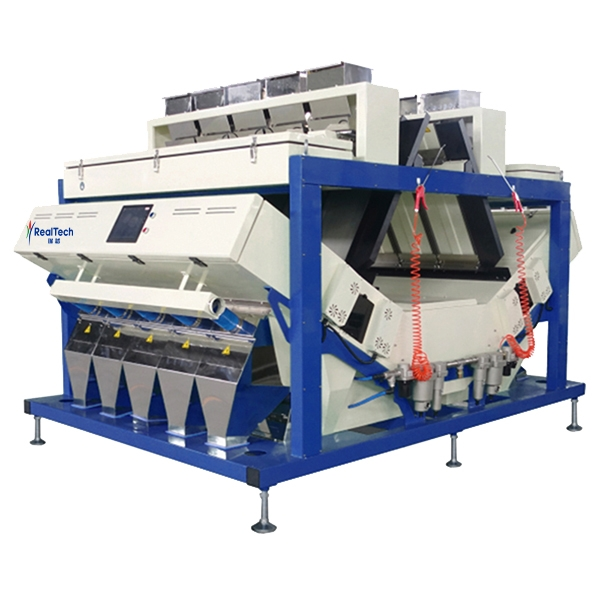 Ten Chutes intelligent CCD rice color sorter