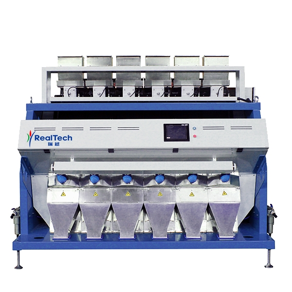 Six Chutes Full Color RGB CCD Color Sorter