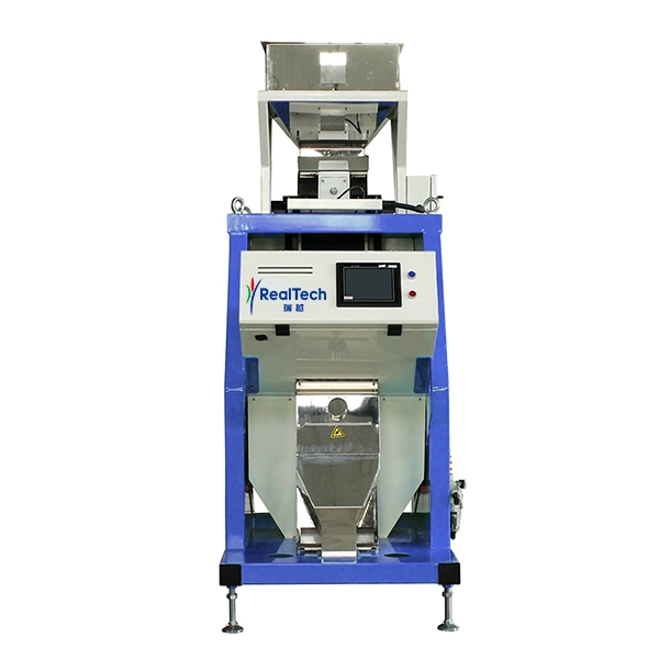 One Chute Full Color RGB CCD Color Sorter