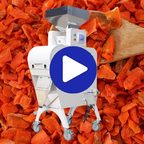 Dry Carrot Color Sorter Colour Sorting