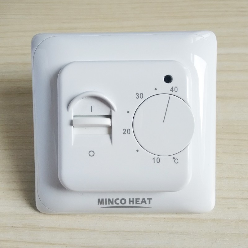 Electric Floor Heating Manual Room Thermostat Warm Floor Cable Temperature Controller
