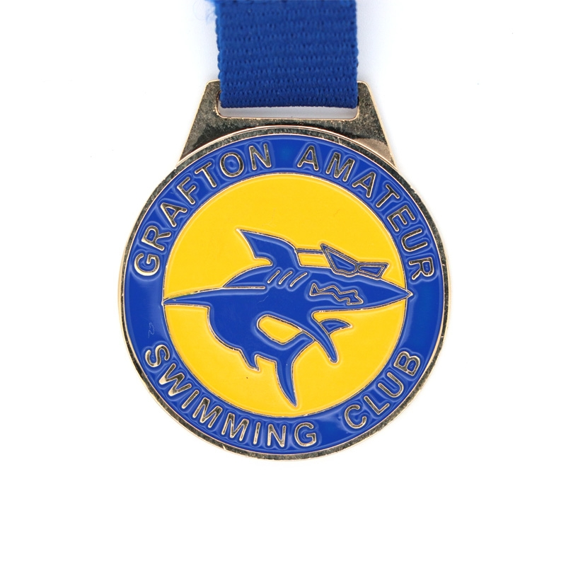 New Designs Customized Sports Marathon Running Metal Medal With Ribbon For 2020 Events